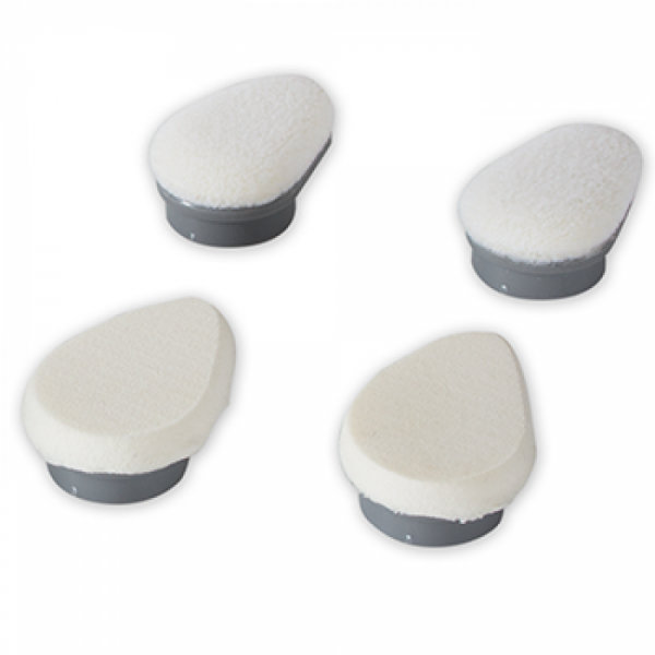 2 x firm applicator sponge & 2 x soft