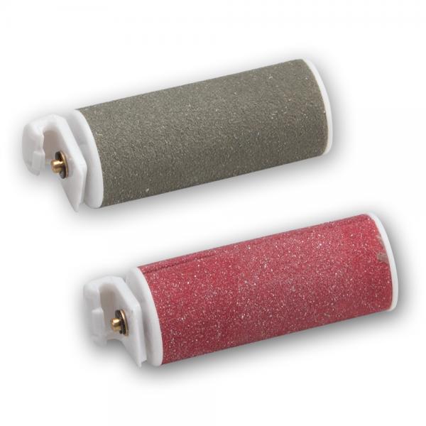 Embout émeri gros grain (gris) & grain fin (rouge)