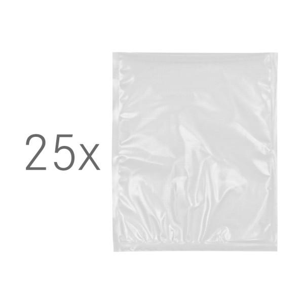 25 foliezakjes groot (25 x 30 cm)