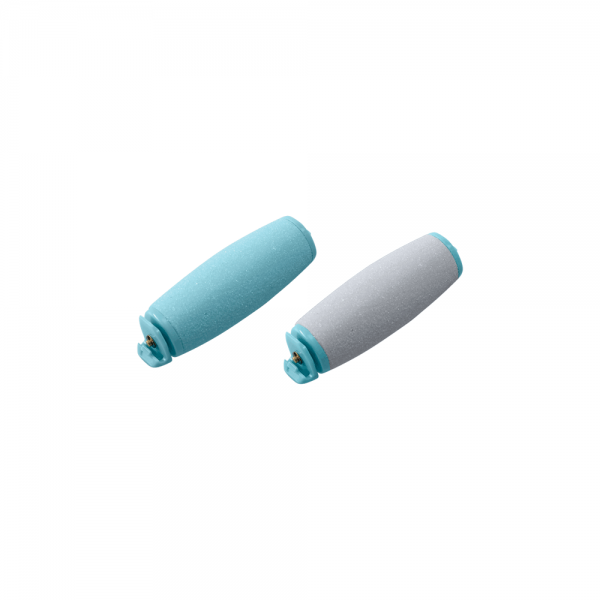 Coarse pumice attachment (grey) & Fine pumice (turquoise)
