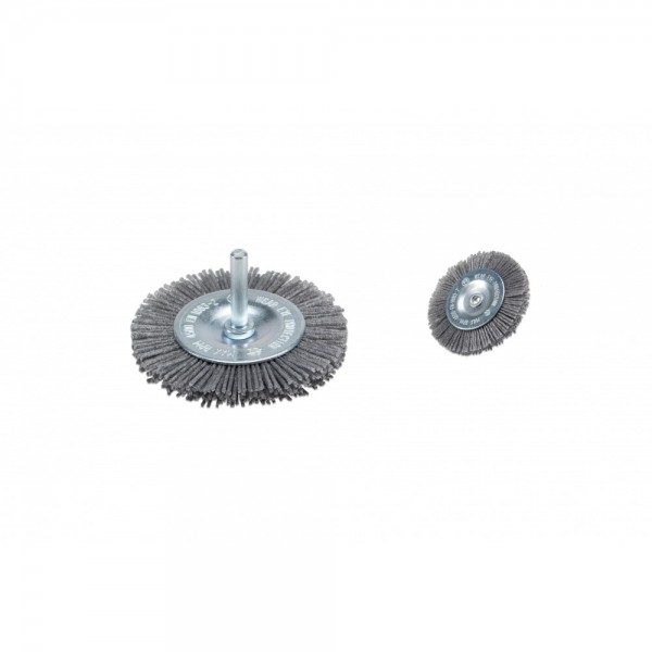 Cepillo de disco de alambre de nailon / fino